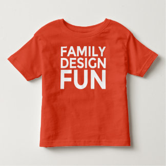 Kid's Apparel - Family Design Fun FDF Toddler T-shirt