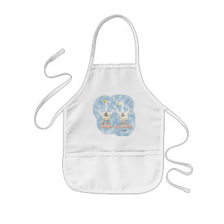 Kids Apron Geese for Peace