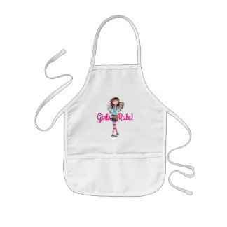 Kids Apron/Girls Rule Kids Apron