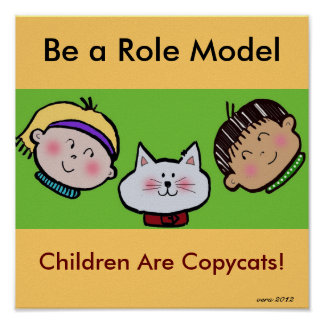 Kids are Copycats Poster