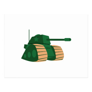 KIDS ARMY TANK POST CARDS