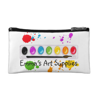 Kids Art Supplies Zipper bag Makeup Bag