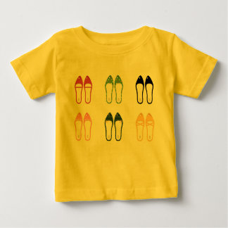 Kids artistic T-Shirt with SHOES VINTAGE