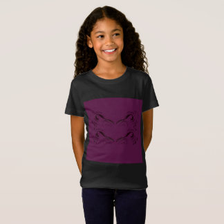 Kids artistic t-shirt with Wings angel