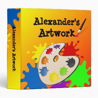 Kid's Artwork Binder