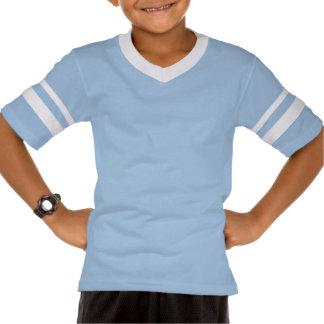 Kids' Augusta Retro Striped Sleeve V-Neck BULK Shirts