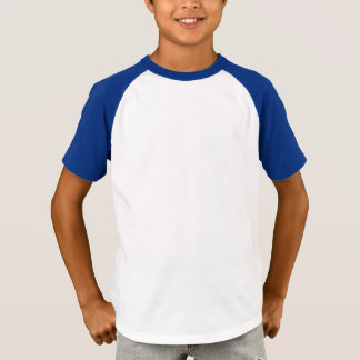 KIDS' Augusta Two-Button Poly-Cotton Baseball Jers T-Shirt