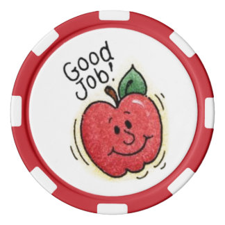 kids award polka chips poker chips set