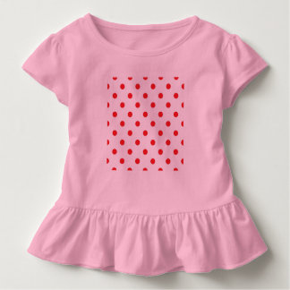 Kids baby tshirt with retro Dots