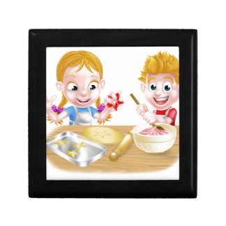 Kids Baking Cakes and Cookies Gift Box