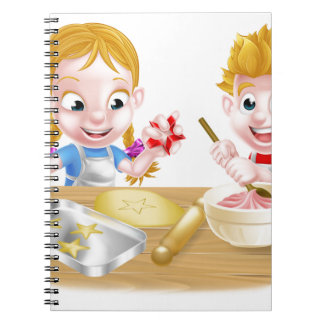 Kids Baking Cakes and Cookies Notebook