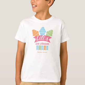 Kid's Basic T-Shirt - Lili's Ice Cream Stand