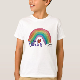 Kids Basic Team Kaitlin Tshirt