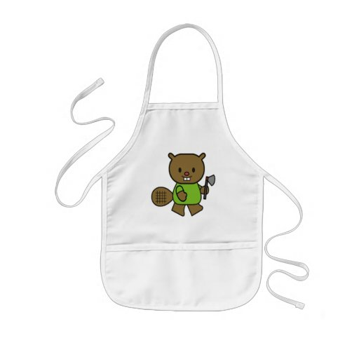 Kids Beaver T Shirts and Gifts Aprons