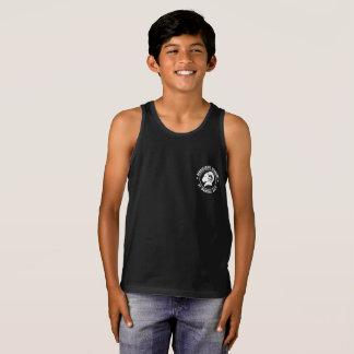 Kids' Bella+Canvas Classic Black RAM Tank Top