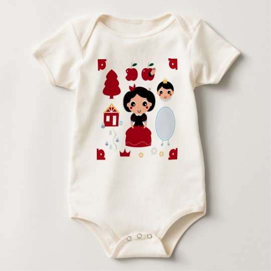 Kids bio baby Body with Princess Baby Bodysuit