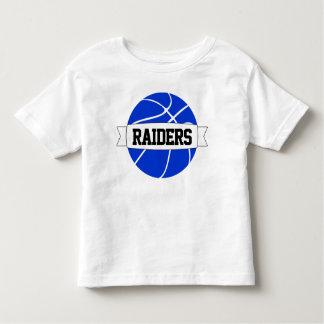 Kid's Blue Basketball Team, Name & Number T-shirt