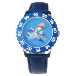 Kids Blue Shark Watch