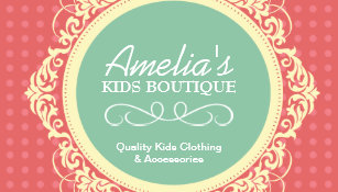 Kids Boutique Business Cards Business Card Printing Zazzle CA - Kid business card template