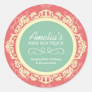 Kids Boutique Stickers
