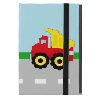 Kids Boys Construction Dumptruck iPad Mini Cases