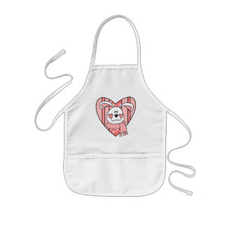Kids Bunny Rabbit T Shirts and Gifts Kids Apron