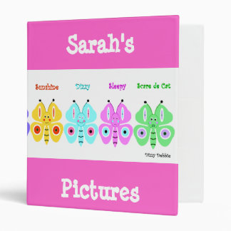 Kid's Butterfly Album Binder