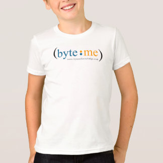 Kid's Byte Me shirt