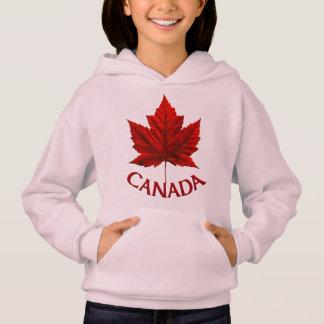 Kid's Canada Flag Hoodie Maple Leaf Kid's Hoodie
