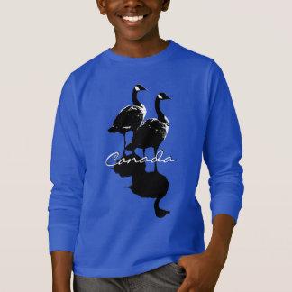 Kid's Canada Sweatshirt Canada Geese Kid's Shirt