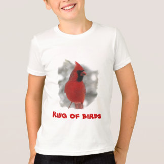 Kids Cardinal - King of birds T-Shirt