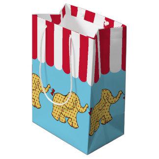 Kids Carnival Circus Elephants Birthday Gift Bag