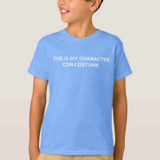 Kid's Character Con T-Shirt