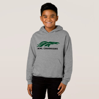 Kids Charger Hoodie - Green Logo