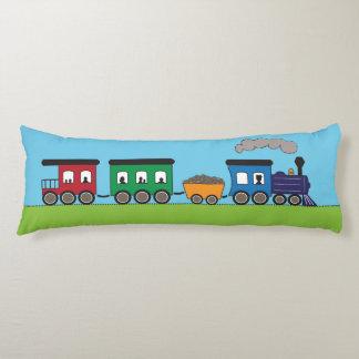 Kid's Choo Choo Train by Cindy Bendel Body Pillow