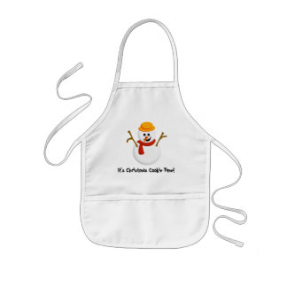 Kids Christmas Cookie Apron