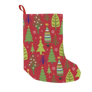 Kid's Christmas tree stocking