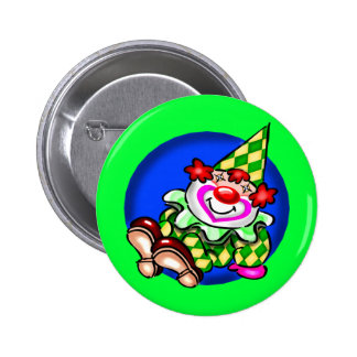 Kids Circus Clown T Shirts and Gifts 2 Inch Round Button