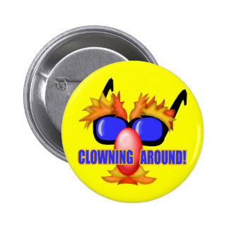 Kid's Circus Clown T Shirts and Gifts 2 Inch Round Button