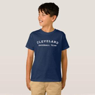Kid's Cleveland baseball team tee