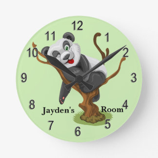 Kid's Clock Cute Baby Koala Bear