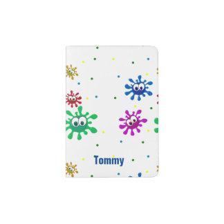 Kids Colorful Custom Passport Holder