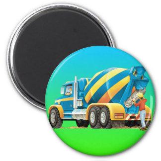 Kids Concrete Mixer Magnet
