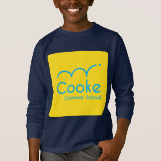 KIDS Cooke Grammar School Long Sleeved Shirt, Navy T-Shirt
