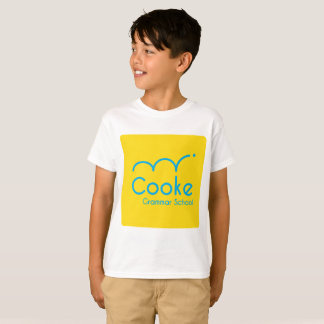 KIDS Cooke Grammar School Shirt, White T-Shirt