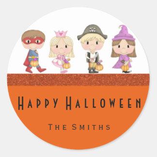Kids costumes stickers