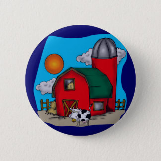 Kids Cow T Shirts and Gifts 2 Inch Round Button