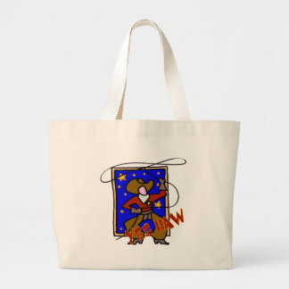 Kids Cowboy Tote Bag