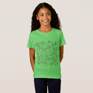 Kids creative Fashion : with circles T-Shirt