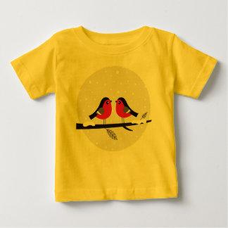 Kids creative t-shirt with LOVE BIRDS